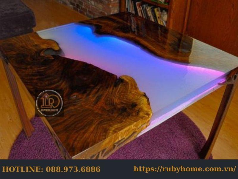bàn epoxy resin