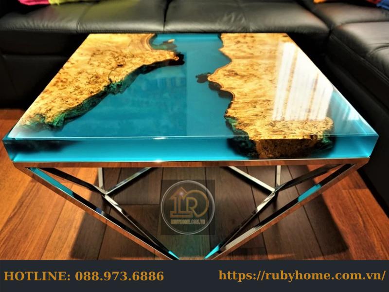 giá mặt bàn epoxy