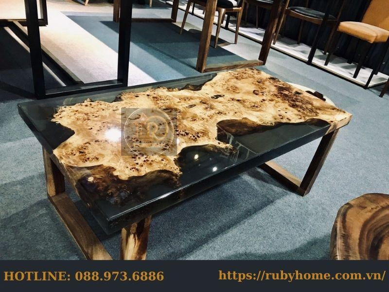 mặt bàn epoxy resin
