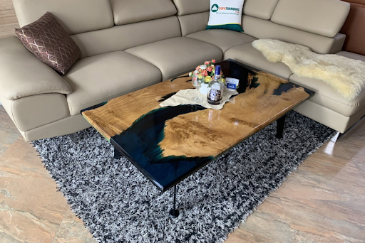 mặt bàn epoxy