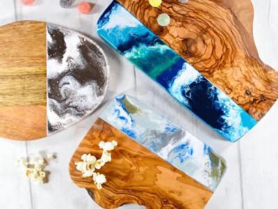Cách làm bàn gỗ bằng keo epoxy đơn giản tại nhà